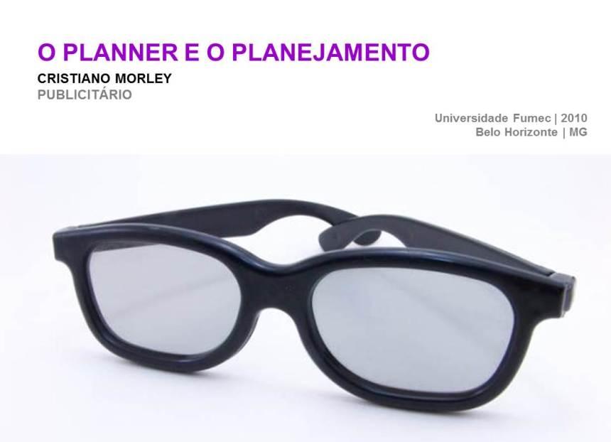 O Planner e o Planejamento
