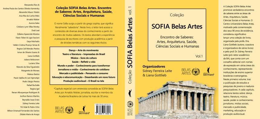 """Livro """"Sofia Belas Artes"""" Encontro de Saberes"""