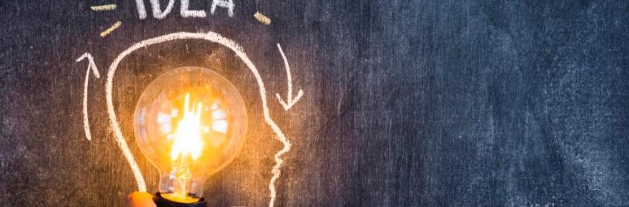 ideia, lâmpada